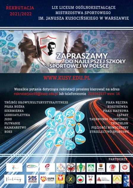 Plakat LIX LO Warszawa_70%